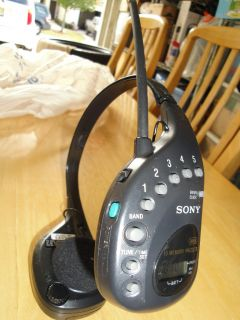 Sony SRF HM22 Am FM Headphone Radio Walkman