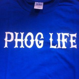 University of Kansas Jayhawks Phog Life Shirt KU Basketball Allen