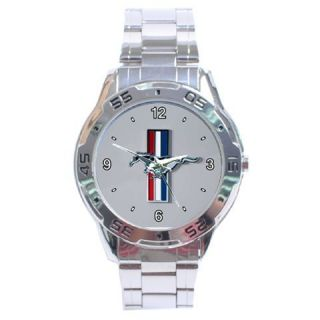 2006 Ford Mustang V6 Pony Logo Analogue Men's Watch