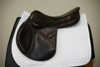 Used Amerigo Close Contact 18 M Brown Jumping Saddle