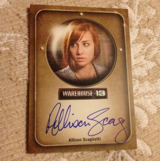 2012 Warehouse 13 Season 3 Allison Scagliotti as Claudia Donovan auto