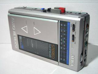 Vtg AIWA HS J300 HS J300 HS J 300 FM AM Radio Cassette Recorder Player