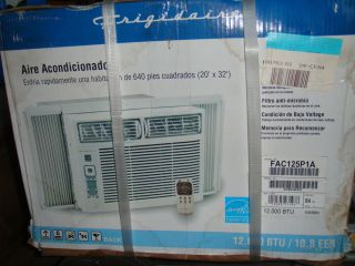 Frigidaire FAC125P1A thru Wall Window Air Conditioner