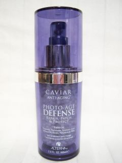 Alterna Caviar Photo Age Defense Treatment for Hair 2oz