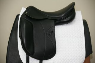 CLEARANCE AMERIGO ALTO 18.5 WIDE DRESSAGE SADDLE