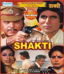 Shakti Bollywood Hindi Movie DVD Amitabh Bachchan Dilip Kumar Rekhee