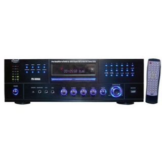 Pyle Pro 3000 Watt Amp Amplifier Home Stereo Receiver w DVD Player