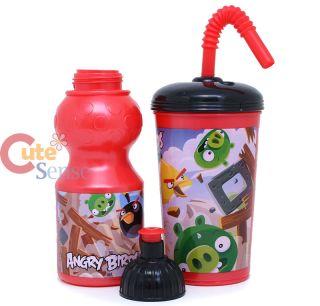 Rovio Angry Birds Drinking Bottle Tumbler Set 2pc Set BPA Free