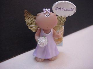 Russ Berrie Angel Cheeks Wedding Bridesmaid Figurine