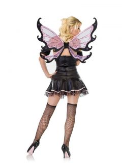 Deluxe Evil Fairy Angel Butterfly Spider Wings Fancy Dress