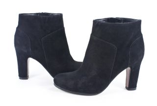 black suede bootie ankle boots brand new and in perfect condition