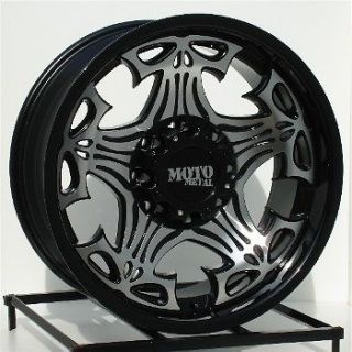 17 inch black wheels rims chevy dodge ram hd 2500