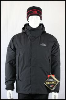 The North Face Mens Mountain Light Triclimate Jacket Black AUFMJK3
