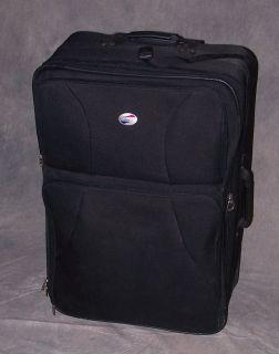 American Tourister 29 Upright Suitcase Luggage Wheeled Black