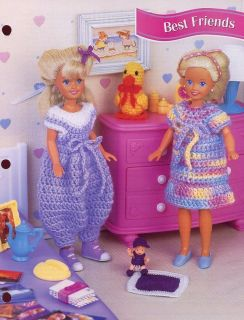 Best Friends Barbie Sister Skipper Doll Dress Bubble Pants Duck