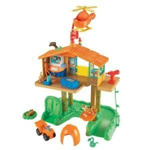 Go Diego Go Playset Talking Animal Rescue Center 200 Addl pieces