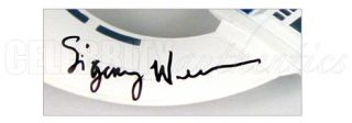 SIGOURNEY WEAVER AUTOGRAPHED GALAXY QUEST N.S.E.A. PEGASUS PROTECTOR