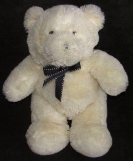 12 Toys R US Animal Alley Light Yellow Shaggy Chenille Teddy Bear