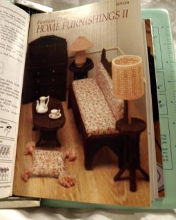Vtg Annies Needlecraft Patterns Fashion Doll House Toys Accessories