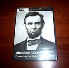 LINCOLN Civil War President Presidency Biography Abe Bio A&E DVD NEW
