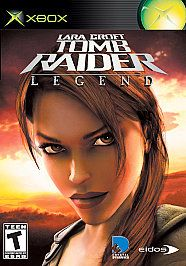 lara croft tomb raider legend xbox 2006