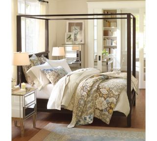 Pottery Barn ANNA MARIA PATCHWORK QUILT KING/CA KING & 1 SHAM
