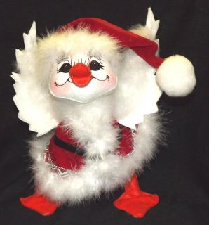 ANNALEE DOLL CHRISTMAS CANDY DUCK 10 #750708 NEW w/ TAGS * FREE