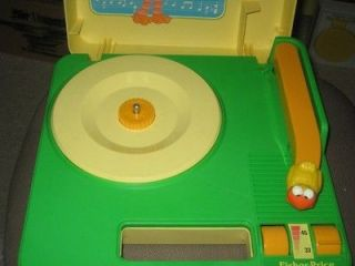 MODDED 1983 Fisher Price Sesame Street Big Bird Record Player