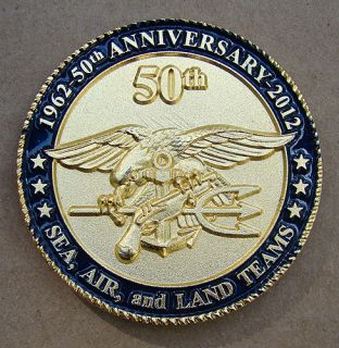 50th Anniversary Challenge Coin Special Operations 2 Coin