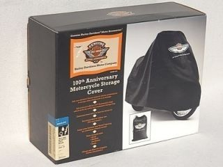 100th Anniversary Harley Davidson Medium Dust Cover 91625 03 FXST
