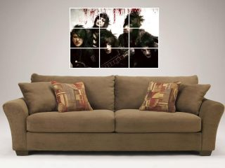 Black Veil Brides Mosaic 35x25 Wall Poster Andy Sixx B