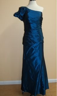 Alfred Angelo Special Occasion Mother Dress 7216 70724 Size 18W Blue