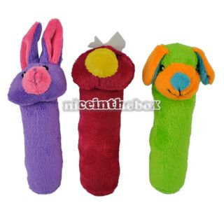 Kid Baby Cute Lovely Toys Animal Model Hand Bell 6 Style Hot Sale