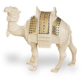 China Jewels Nativity Standing Camel Animal Figurine Figure