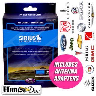 Sirius Radio FM Direct w Antenna Adapters for Cadillac
