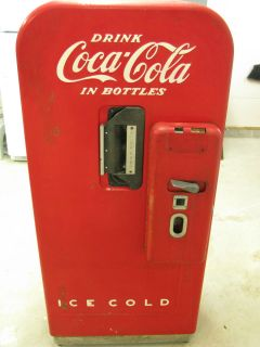 Antique Coke Machine/Coca Cola   Vendo Company   Working Condition