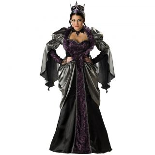 Adult Womens Sexy Snow White Deluxe Halloween Costume Std/Plus Size