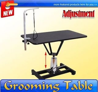 Adjustable Portable Pet Dog Hydraulic Pump Grooming Table Large Case