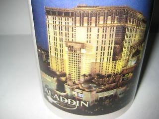 aladdin casino las vegas collectible ceramic mug