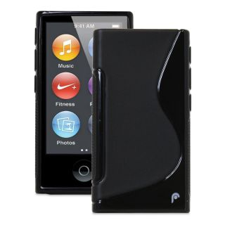 hybrid s series tpu protector case for apple ipod nano 7th gen black