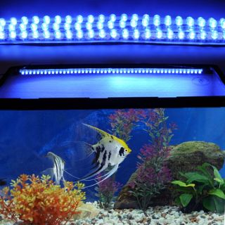 72 LED Moonlight Strip Kit 4 Marine Aquarium Fish Tank