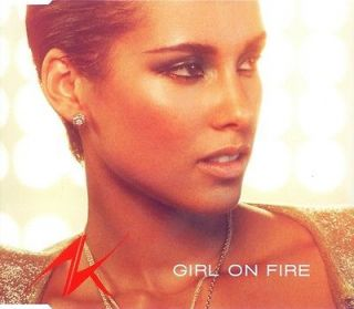 Alicia Keys – Girl On Fire   New German Import CD Single k