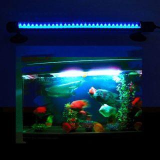 code no b027 submerged blue lighting marine aquarium fish tank 30led