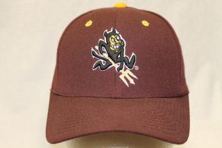 Arizona State Sun Devils NCAA Hat Cap DHS Maroon Sun Devil CLOSEOUT