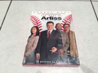 The Best of Arliss DVD 2 Disc Set New SEALED Arli$$ Robert Wuhl HBO