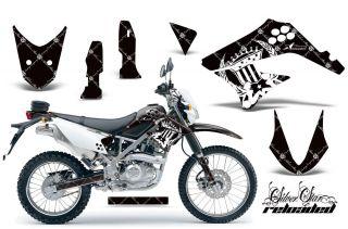 AMR RACING DIRT BIKE MOTOCROSS DECAL WRAP KAWASAKI D TRACKER KLX 125