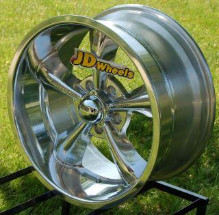 JD Wheels 18x9 Showwheels STREETER POLISHED S1189006PPT 5x5 +6 GM