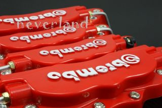 Front Rear Universal Disc Brake Caliper Cover Brembo Style Medium