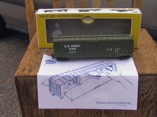 model power us army ho tank buster gun train car military series 9162
