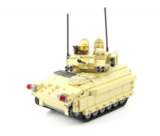Tank Army Custom Lego Military Instructions Ebay